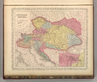 Austrian Empire. Entered according to Act of Congress in the year 1856 by Charles Desilver in the Clerk's office if the District Court of the Eastern District of Pennsylvania. 56.