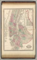 Johnson's New York (City) and Brooklyn. Published by A. J. Johnson, New York. 40. 41. Entered according to the Act of Congress, in the year 1866, by A.J. Johnson in the Clerk's Office of the District Court of the United States for the Southern District of New York.