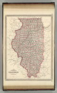 Johnson's Illinois. Published by A. J. Johnson, New York. 66. 67. Entered according to the Act of Congress, in the year 1864, by A.J. Johnson in the Clerk's Office of the District Court of the United States for the Southern District of New York.