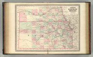 Johnson's Kansas and Nebraska. Published by A. J. Johnson, New York. Entered according to the Act of Congress, in the year 1870, by A.J. Johnson in the Clerk's Office of the District Court of the United States for the Southern District of New York.