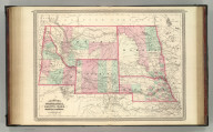 Johnson's Nebraska, Dakota, Idaho, Montana, and Wyoming. Published by A. J. Johnson, New York. 76. 77. Entered according to the Act of Congress, in the year 1865, by A.J. Johnson in the Clerk's Office of the District Court of the United States for the Southern District of New York.