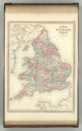 Johnson's England and Wales. Published by A. J. Johnson, New York. 89. 90. Entered according to the Act of Congress, in the year 1867, by A.J. Johnson in the Clerk's Office of the District Court of the United States for the Southern District of New York.