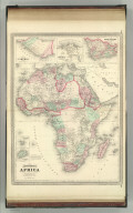 Johnson's Africa. Published by A. J. Johnson, New York. 116. 117. Entered according to the Act of Congress, in the year 1864, by A.J. Johnson in the Clerk's Office of the District Court of the United States for the Southern District of New York.