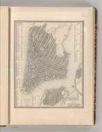 City of New York. Published By S. Augustus Mitchell, N.E. corner of Market & 7th Streets, Philada. Entered according to Act of Congress in the 1846, by H.N. Burroughs - in the Clerk's Office of the District Court of the Eastern District of Pennsylvania. 11.