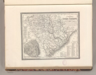 A New Map of South Carolinia with its Canals, Roads & Distances from place to place along Stage and Steam Boat Routes. Published by S. Augustus Mitchell, N.E. Corner of Market & 7th. Streets Philada. Entered according to Act of Congress in the 1846 by H.N. Burroughs - in the Clerk's Office of the Eastern District of Pennsylvania. 19.
