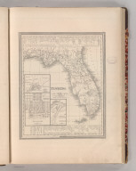 Florida. Entered according to Act of Congress in the 1839 by H.S. Tanner - in the Clerk's Office of the Eastern District of Pennsylvania. 21.