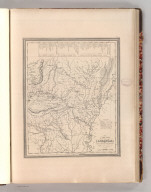 A New Map of Arkansas with its Canals, Roads & Distances. By H.S. Tanner. Entered according to Act of Congress in the 1841 by H.S. Tanner - in the Clerk's Office of the Eastern District of Pennsylvania. 25.