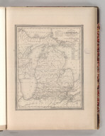 A New Map of Michigan with its Canals, Roads & Distances. By H.S. Tanner. Entered according to Act of Congress in the 1841 by H.S. Tanner - in the Clerk's Office of the Eastern District of Pennsylvania. 29.
