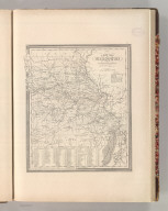 A New Map of Missouri with its Roads & Distances. By H.S. Tanner. Entered according to Act of Congress in the 1841 by H.S. Tanner - in the Clerk's Office of the Eastern District of Pennsylvania. 32.