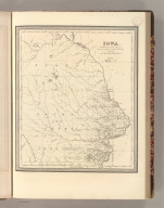 Iowa. Published by S. Augustus Mitchell, N.E. Corner of Market & 7th. Streets Philada. 1847. 34.