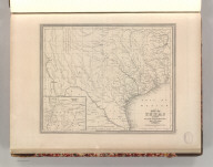 Map of Texas from the Most Recent Authoriities. Philadelphia. Published by C.S. Williams, N.E. Corner of Market & 7th Streets. 1845. Entered according to Act of Congress in the 1845 by C.S. Williams, in the Clerk's Office of the District Court of the Eastern District of Pennsylvania. 35.
