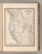 Oregon, Upper California & New Mexico. Published by S. Augustus Mitchell, N.E. Corner of Market & 7th. Streets Philadelphia. 1849. Entered according to Act of Congress in the 1845 by H.N. Burroughs - in the Clerk's Office of the Eastern District of Penna. 36.