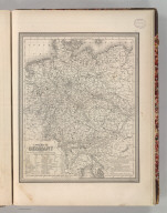 A New Map of Germany. Entered according to Act of Congress in the 1848 by S. Augustus Mitchell Jr. in the Clerk's Office of the District Court of the Eastern District of Pennsylvania. 50.
