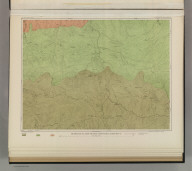 Geological Map of the New Idria District. U.S. Geological Survey. Monograph XIII, Atlas Sheet VI. J.D. Hoffman, Topographer. Giles Litho. & Liberty Printing Co. N.Y. Geo. F. Becker, Geologist in charge.