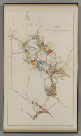 Plan of the New Almaden Mine. U.S. Geological Survey. Monograph XIII, Atlas Sheet IX. Compiled by F. Reade 1885. Giles Litho. & Liberty Printing Co. N.Y. Geo. F. Becker, Geologist in charge.