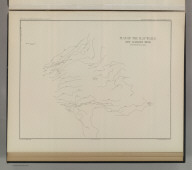 Plan of the Clay Walls, New Almaden Mine. U.S. Geological Survey. Monograph XIII, Atlas Sheet XIII. Compiled by F. Reade 1885. Giles Litho. & Liberty Printing Co. N.Y. Geo. F. Becker, Geologist in charge.