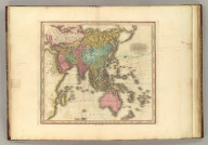 Asia. New edition improved to 1828. Published By H.S. Tanner, Philadelphia.