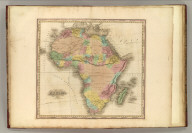 Africa. New edition improved to 1828. Engraved & Published By H.S. Tanner, Philadelphia.