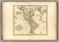 America. American Atlas. Engraved & Published By H.S. Tanner, Vallance, Kearney & Co., No. 10 Library St., Philadelphia. (1833)