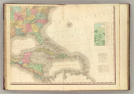 North America, S.E. Sheet. American Atlas. Engraved & Published By H.S. Tanner & Co., Philadelphia. 1822.