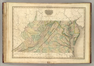 Virginia, Maryland, Delware. By H.S. Tanner. American Atlas. Engraved and Published by H.S. Tanner, Philadelphia. Entered according to Act of Congress, 20th Day of Decr. 1820, by H.S. Tanner, of the State of Pennsylvania.
