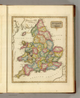 England and Wales. Sam Harrison, Scl. Philada. (1822)