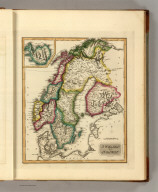 Sweden and Norway. S. Harrison, Scl. Phia. (1822)