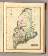Maine. Drawn & Published by F. Lucas Jr., Baltimore. B.T. Welch & Co. Sc. (1822)