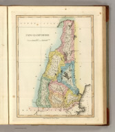 New Hampshire. Drawn & Published by F. Lucas Jr., Baltimore. B.T. Welch Sc. (1822)