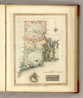 Rhode Island. Drawn & Published by F. Lucas Jr., Baltimore. (1822)