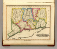 Connecticut. Drawn & Published by F. Lucas Jr., Baltimore. B.T. Welch, Sc. (1822)