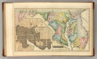 Maryland. Drawn & Published by F. Lucas Jr., Baltimore. Cone & Freeman, Sc. (1822)