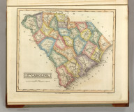 Sth. Carolina. Drawn & Published by F. Lucas Jr., Baltimore. B.T.Welch & Co. Sc. (1822)