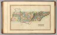 Tennessee. Drawn and Published by F. Lucas Jr. B.T. Welch & Co., Sc. (1822)