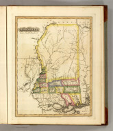 Mississippi. Drawn and Published by F. Lucas Jr. B.T. Welch, Sc. (1822)