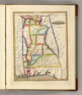 Alabama. Drawn and Published by F. Lucas Jr. J. Cone, Sc. (1822)