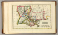 Louisiana. Baltimore _ Published by F. Lucas 1817. Reduced from W. Darby's four Sheet Map. S. Harrison, Scl., Philaa.