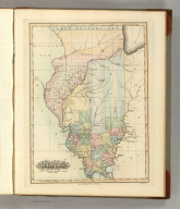 Illinois. Drawn and Published by F. Lucas Jr., Baltimore. B.T. Welch, Sc. (1822)