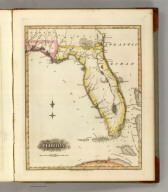 Florida. Drawn and Published by F. Lucas Jr., Baltimore. B.T. Welch & Co. (1822)