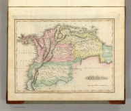 Colombia. Drawn and Published by F. Lucas Jr., Baltimore. Young & Delleker, Sc. Philada. (1822)