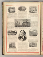 P.T. Barnum. The Sturtevant House, (New York). Hayes Hotel, Springfield, Mass. Brevoort House, New York. Grand Union Hotel (New York). Fenwick hall, New Saybrook, Conn. Grand Hotel, New york City. United States Hotel, Hartford, Connecticut. Highland House, Garrison, N.Y. (1875)