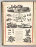 S.A. Woods Machine Company. Manufacturers of Woodworking Machinery. (1875)