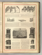 Samuel S. Bent. Globe Iron Foundry, New York. Manufacturer of Improved Stable Fixtures, etc. The Woven Wire Mattress Co., Hartford, Conn., and Chicago, Ill. Kehr, Kellner & Co. Representing the Desk and Office Furniture Business of New York. (1875)