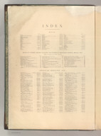 Index to: Atlas and Album of American Industry.