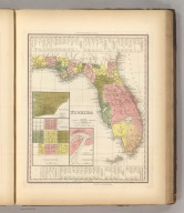 Florida. Entered ... 1833 by H.S. Tanner ... Pennsylvania. Published by Carey & Hart Philadelphia. (above neat line) Tanner's Universal Atlas.
