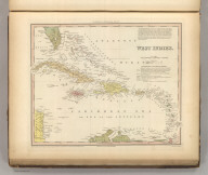 West Indies. Engraved by J. Knight. Entered ... 1834 by H.S. Tanner ... Pennsylvania. Published by Carey & Hart Philadelphia. (above neat line) Tanner's Universal Atlas.