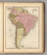 South America. Published by Carey & Hart, Philadelphia. Entered ... 1836 by H.S. Tanner ... Pennsylvania. (above neat line) Tanner's Universal Atlas.