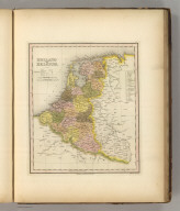 Holland And Belgium. Engraved by J. & W.W. Warr. Philadelphia, Published by Carey & Hart. (above neat line) Tanner's Universal Atlas.