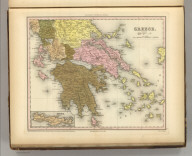 Greece. Engraved by J. Knight. Entered ... 1834, by H.S. Tanner ... Pennsylvania. Philadelphia Published by Carey & Hart. (above neat line) Tanner's Universal Atlas.