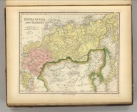 Russia In Asia and Tartary. Engraved by J. & W.W. Warr. Published by Cary & Hart, Philadelphia. (above neat line) Tanner's Universal Atlas.